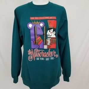 Vintage Nutcracker 100 Years Crewneck Sweatshirt